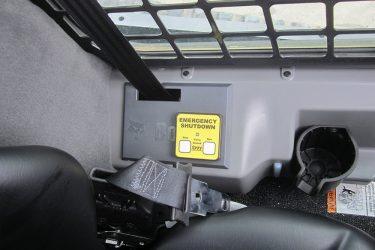 Bobcat T650 Track Loader Dash Control Installation