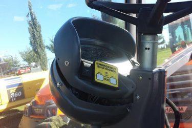 Hamm Compactor 3520 Dash Control Installation