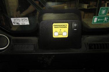 JCB 330 Eco Skidsteer Dash Control Installation