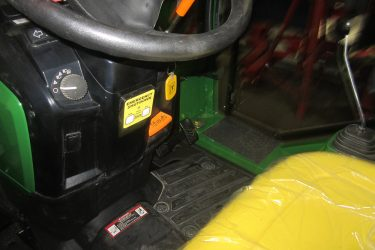 John Deere 1023E Tractor Dash Control Installation