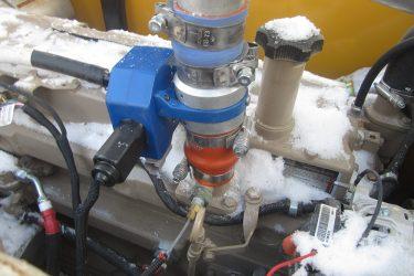 John Deere 210G LC Excavator Valve Installation