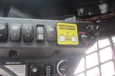 John Deere 319D Track Loader Dash Control Installation