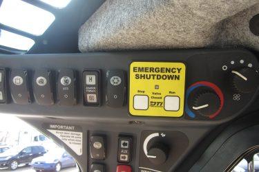 John Deere 332D Skidsteer Dash Control Installation