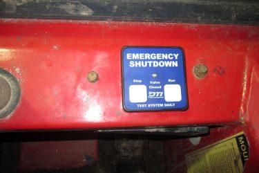 Moffett M8 Forklift Dash Control Installation